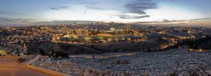 ירושלים לילה. צילום: ארכיון עיר דוד.