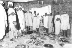סעודת שבת במסגיד 1983